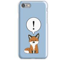 Margo the Shocked Fox iPhone Case/Skin