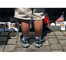 The Vietnam Wall II Photographic Print