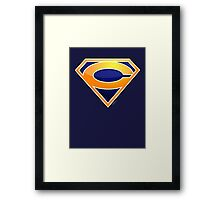 Super Bears of Chicago! Framed Print