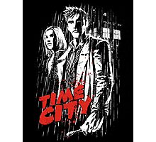 Time City Photographic Print