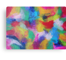 """""""In a Dream No.2"""" original abstract artwork by Laura Tozer Canvas Print"""