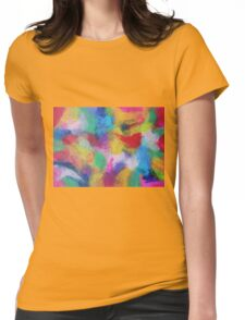 """In a Dream No.2"" original abstract artwork by Laura Tozer Womens Fitted T-Shirt"