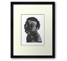 Flatbush Zombies Print - Meechy Darko Framed Print