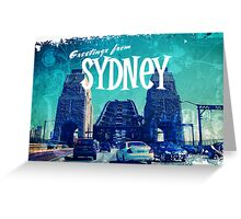 Greetings From Sydney Greeting Card