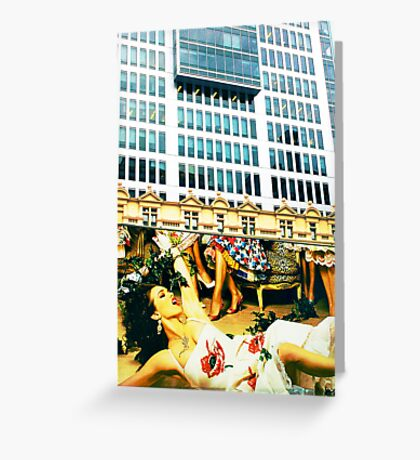 Juxtaposed Greeting Card