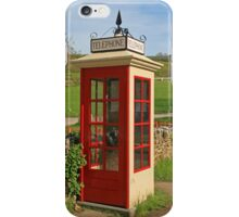 Tyneham Telephone Box iPhone Case/Skin