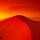 Dawn on Big Red - Simpson Desert by Michael Ellem