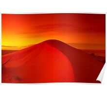 Dawn on Big Red - Simpson Desert Poster