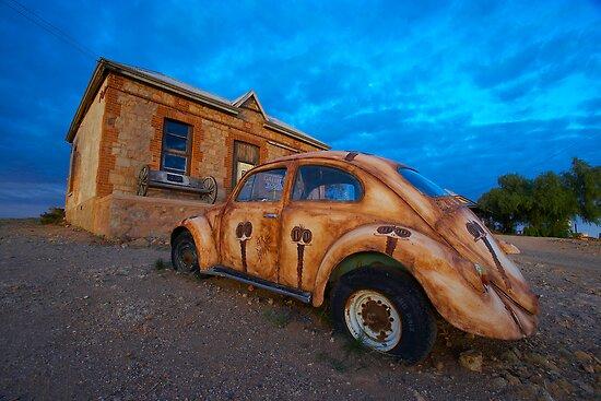 Colours of Silverton - Outback Australia by Michael Ellem