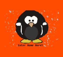 Personalised Penguin  Kids Clothes