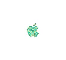 Floral Apple Logo by yungselfiegod