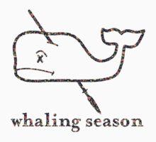 Whaling Season: Vineyard Vines Sucks Floral Logo T-Shirt