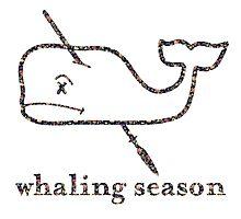 Whaling Season: Vineyard Vines Sucks Floral Logo by bigjoeymastro