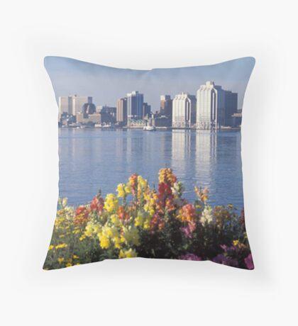 Halifax Nova Scotia Throw Pillow
