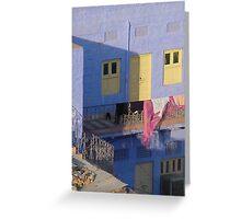 Blue houses, Jodhpur, India Greeting Card