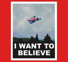 I Want to Believe One Piece - Short Sleeve