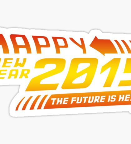Back to the 2015 Sticker
