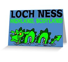 LOCH NESS Greeting Card