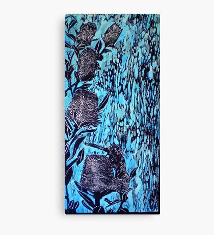 Birdsong  - Woodcut Canvas Print
