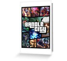 Bandle City (GTA Style) Greeting Card