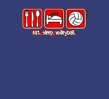 Eat. Sleep. Volleyball. Repeat. Unisex T-Shirt