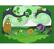 Plants vs Zombies land! Photographic Print
