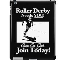 Roller Derby Recruiter iPad Case/Skin