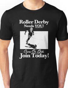 Roller Derby Recruiter Unisex T-Shirt