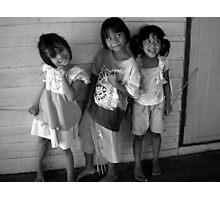 Happy Thai Children Photographic Print