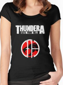 Thundera Women's Fitted Scoop T-Shirt
