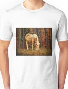 Buckskin Horse in Autumn Unisex T-Shirt