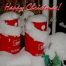 The Santa Twins! by oulgundog