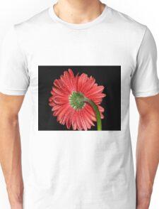 Red Gerbera Daisy Unisex T-Shirt