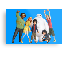 Big Hero 6 - Team #2 Metal Print