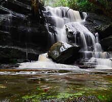 Waterfall from Somersby Falls 14 by wbgraphy
