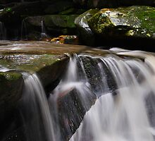 Waterfall from Somersby Falls 15 by wbgraphy