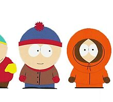 South Park Bus Stop Crew by Luke Heathcote