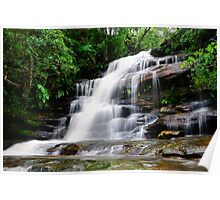Waterfall from Somersby Falls 16 Poster