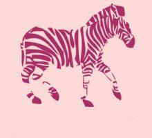 Pink Zebra by Ram Castillo