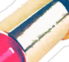 Lipstick Watercolor Sticker