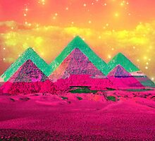 Trippy Pyramids by cyanidedesigns