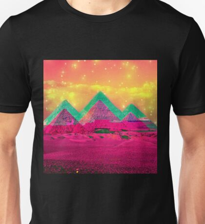 Trippy Pyramids Unisex T-Shirt