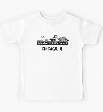 Suburban Wildlife Control - Chicago, IL tee Kids Tee