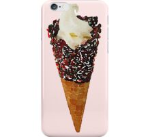 Sweet Sprinkle Ice Cream Pastel Tumblr Trendy Cone iPhone Case/Skin