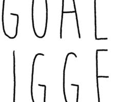 Doodle Bug- Goal Digger Sticker