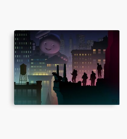 It Just Popped In There! Canvas Print