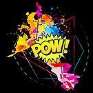 "Comic themed ""pow"" by Scott Mitchell"