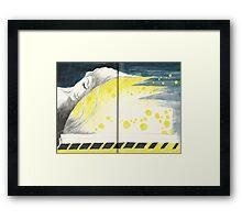 Sketchbook Jak, 68-69 Framed Print