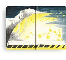 Sketchbook Jak, 68-69 Canvas Print
