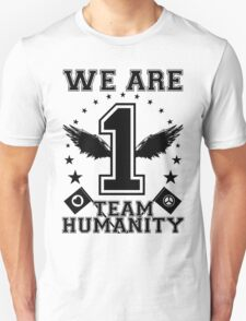 Humanity First Black T-Shirt